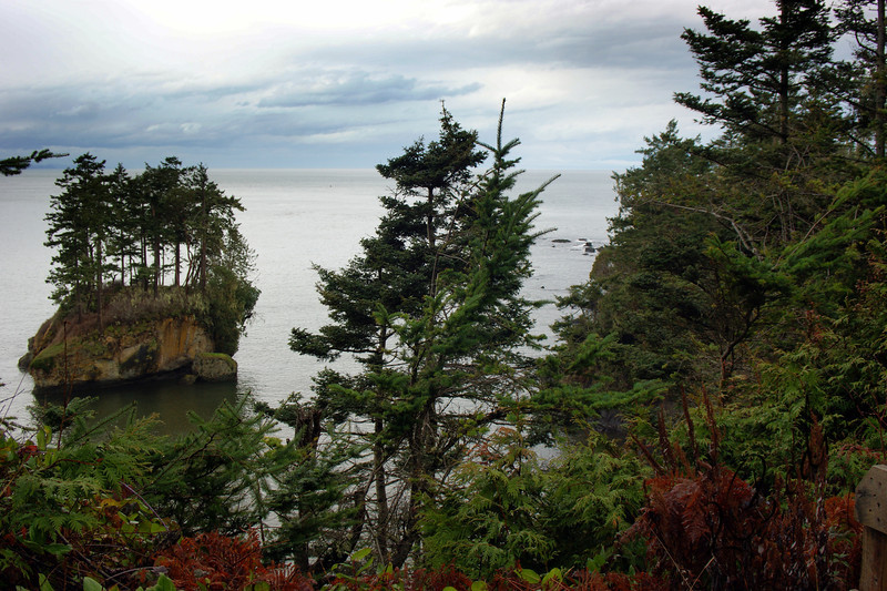 Photo By Bob Bodnar........ View of Crescent Bay from Camp Hayden Area By Tongue Point  & Salt Creek County Park