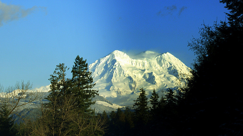 Photo By Bob Bodnar.............................MT. Rainier