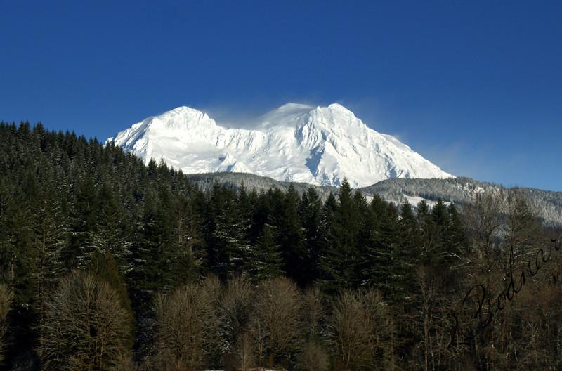 Photo By Bob Bodnar..........................MT. Rainier