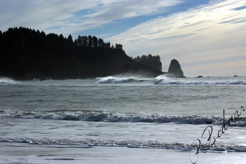 Photo By Bob Bodnar......................Pacific Surf at La Push WA.