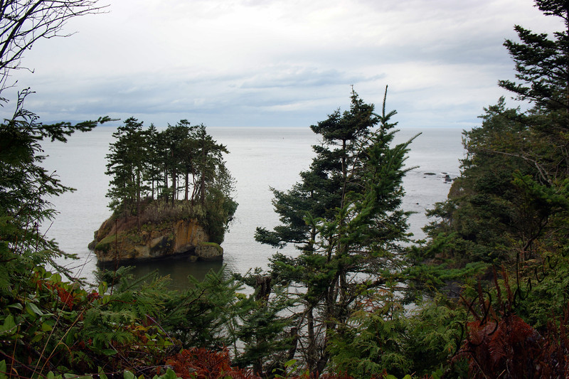 Photo By Bob Bodnar...........View of Crescent Bay From Camp Hayden Area By Tongue Point & Salt Creek County Park