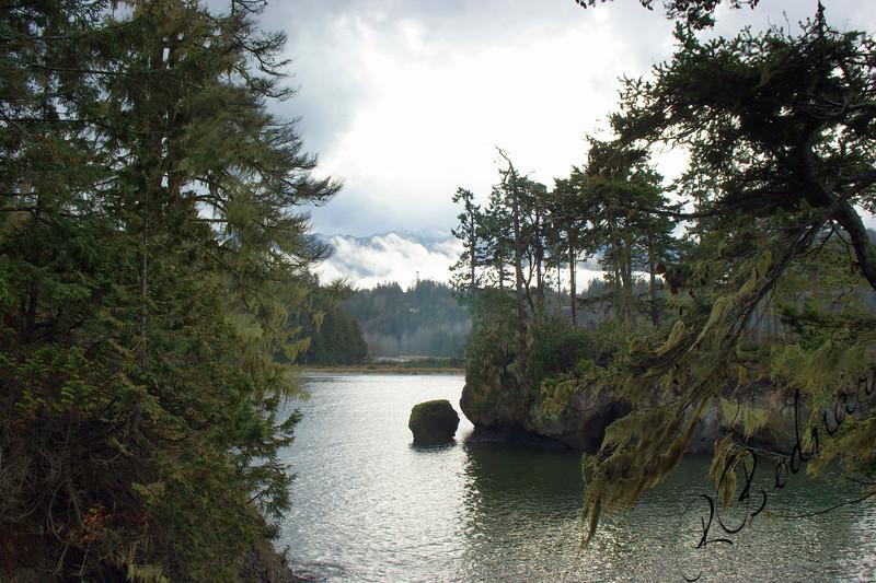 Photo By Bob Bodnar.................Crescent Bay By Tongue Point WA. & Salt Creek County Park