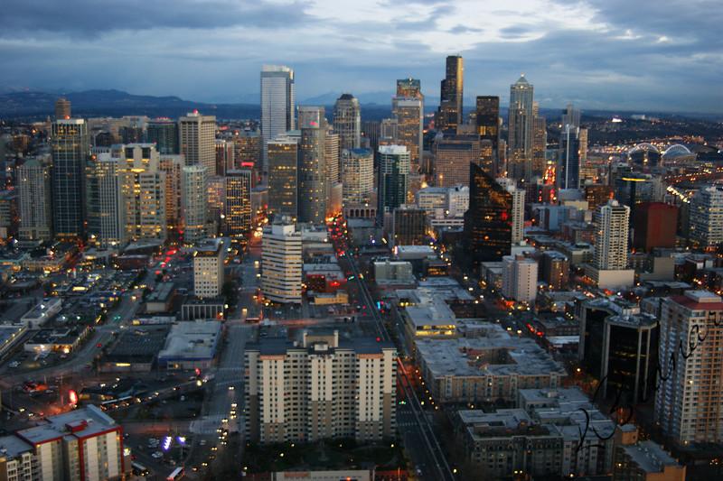 Photo By Bob Bodnar.........................Seattle Skyline