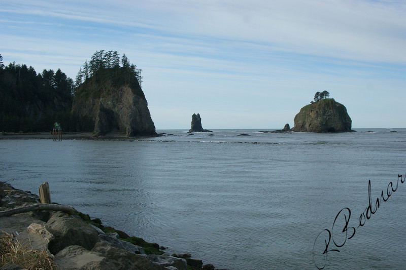 Photo By Bob Bodnar....................La Push WA. On Pacific Coast