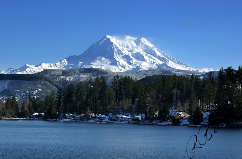 Photo By Bob Bodnar............................MT. Rainier