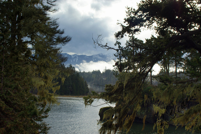 Photo by Bob Bodnar.................Crescent Bay By Tongue Point WA. & Salt Creek County Park