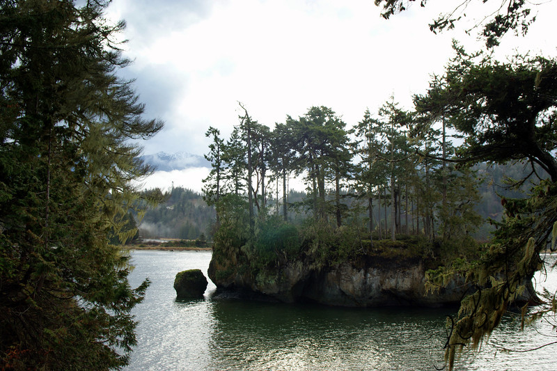 Photo By Bob Bodnar..................Crescent Bay By Tongue Point WA. & Salt Creek County Park
