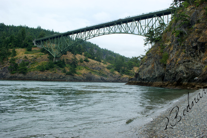 Photo By Bob Bodnar......Deception Pass Bridge, Whidbey Island, WA.
