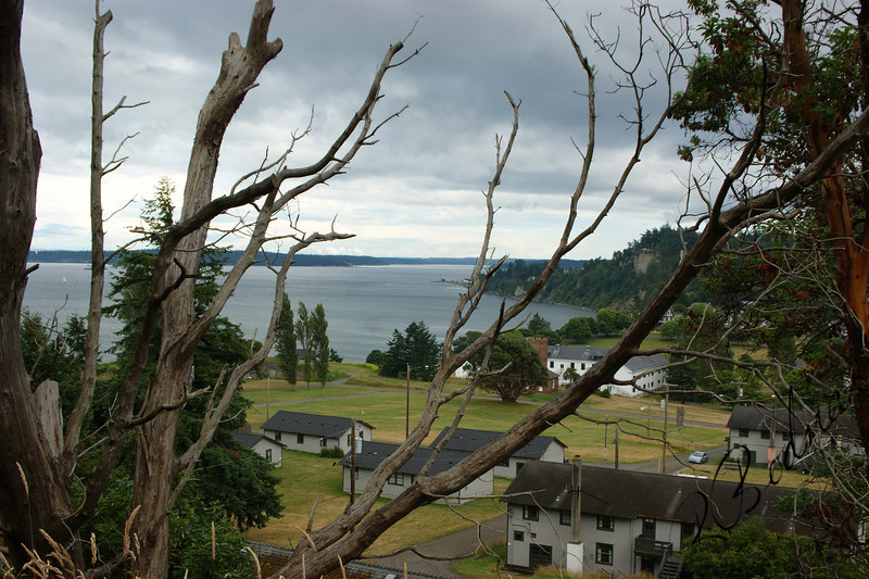 Photo By Bob Bodnar.........View of Fort Worden State Park, Port Townsend WA.