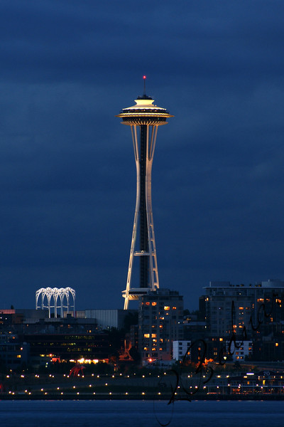 Photo By Bob Bodnar............Seattle's Space Needle