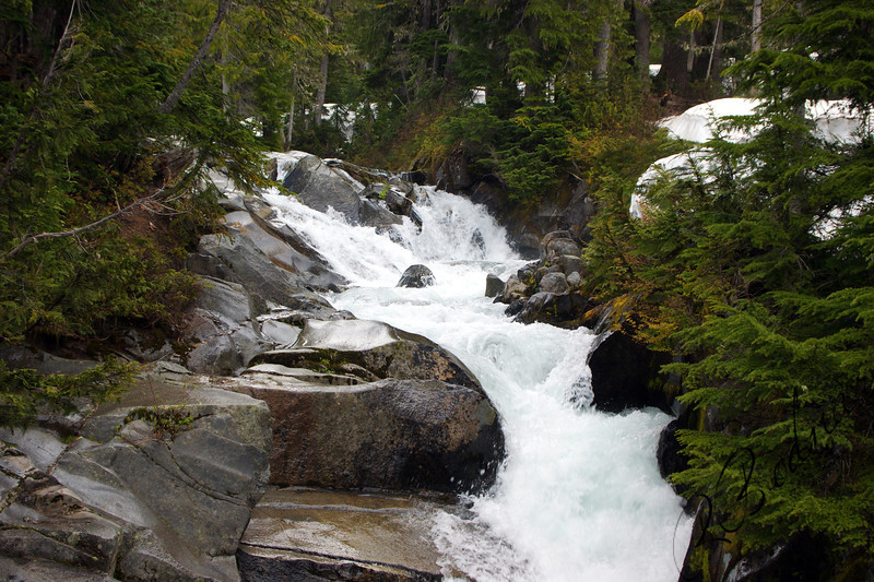 Photo By Bob Bodnar.... Small Water Fall at Mt Rainier