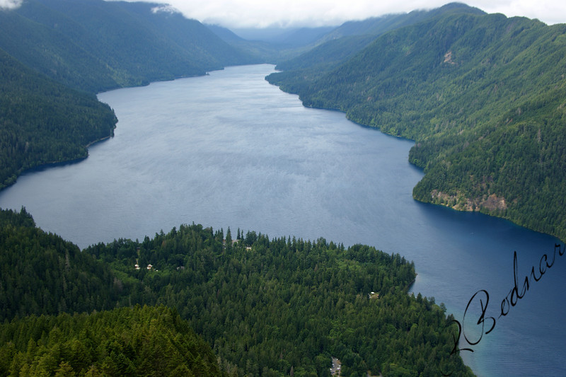 Photo By Bob Bodnar...............View of Crescent Lake from Storm King Summit