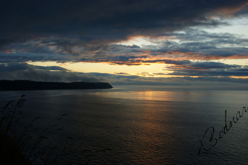Photo By Bob Bodnar...............Port Angeles Sunset