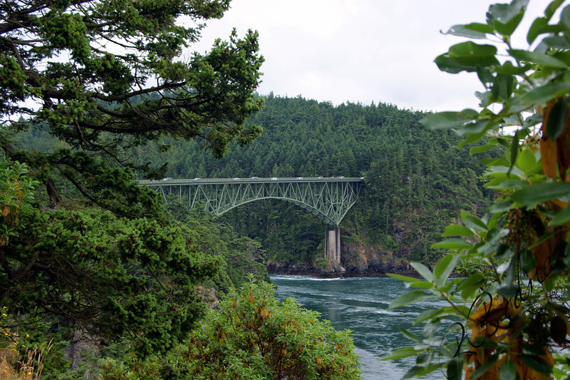 Photo By Bob Bodnar.....Deception Pass Bridge, Whidbey Island Wa