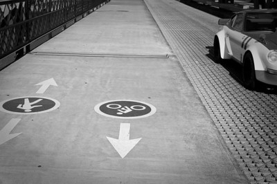 Walk this way.