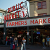 The lively Pike's Place