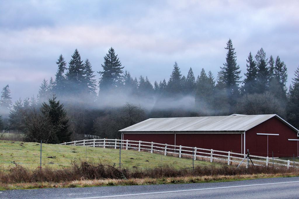 red barn low fog hyw 503