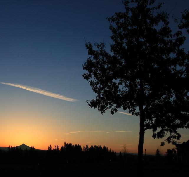 Sunrise from WSUV - Mt Hood