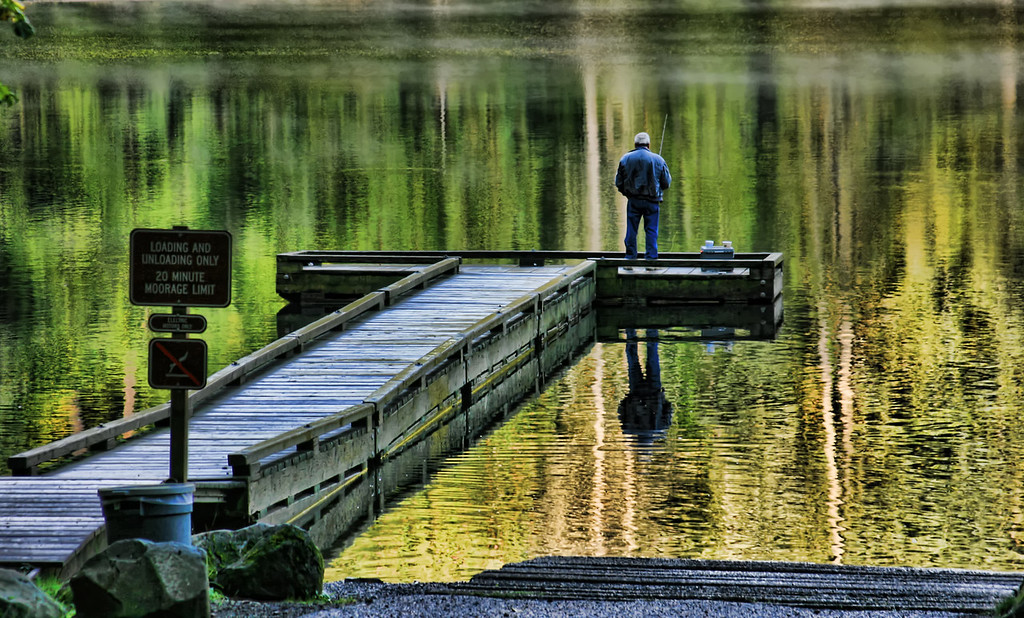 Battle ground Lake Dock