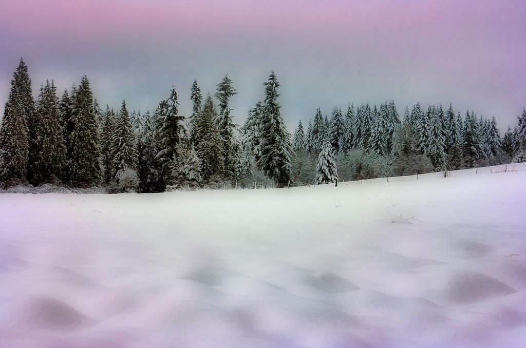 pastel snow