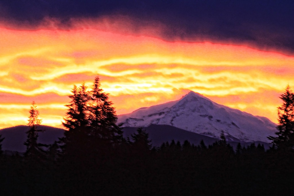 mt hood sunrise