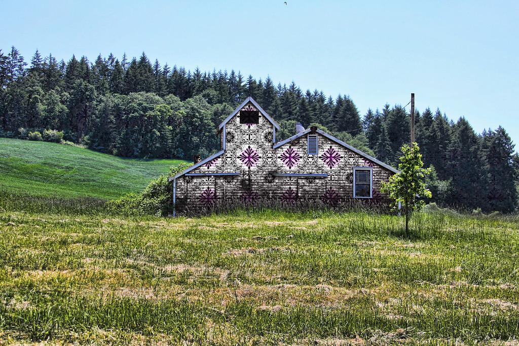 Painted Barn at the Vineyard