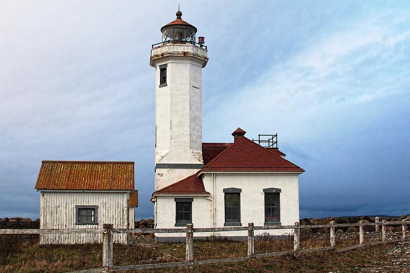 Light House Detailed in Port Townsend by Jodi Tripp