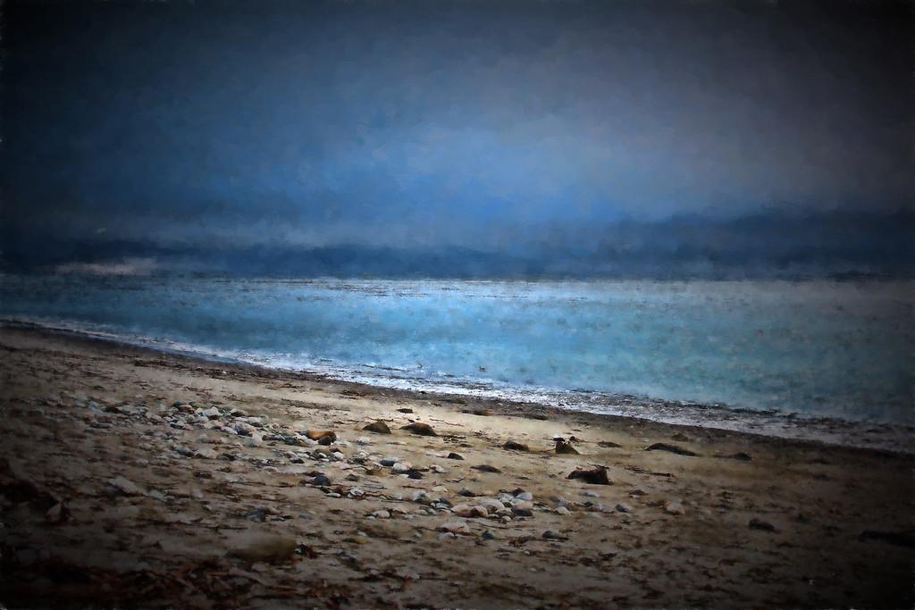 Painted Beach in Port Townsend Dec 2015 by Jodi Tripp