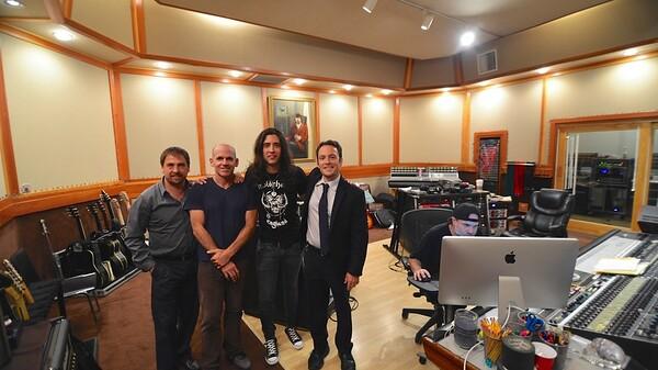 Pacific Records at Studio 606