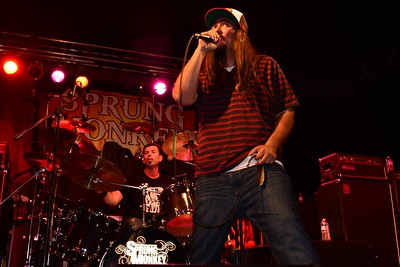 Sprung Monkey with P.O.D. October, 13th 2012