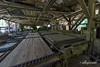 Interior of McLean steam-powered mill, Alberni Valley, British Columbia