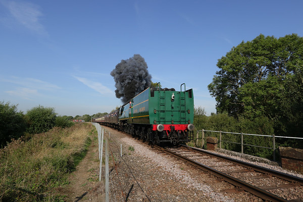 Pacifics at the Nene Valley Railway September 2018