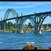 Yaquina Bay Bridge—Built in 1934