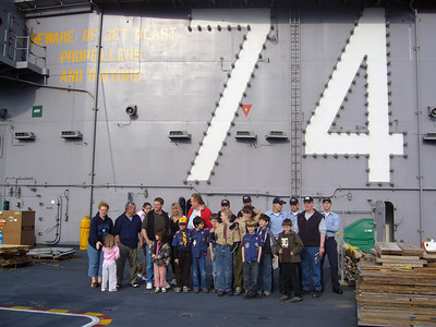 Stennis Visit - May 12
