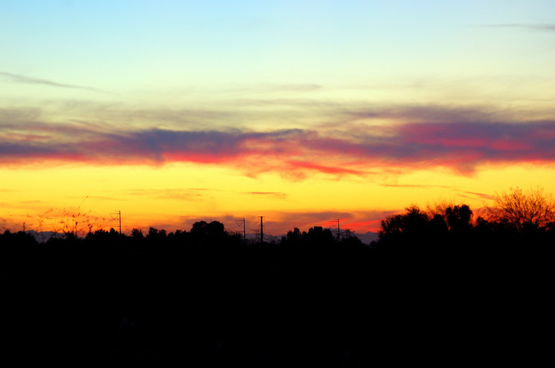 Sunset in Gilbert