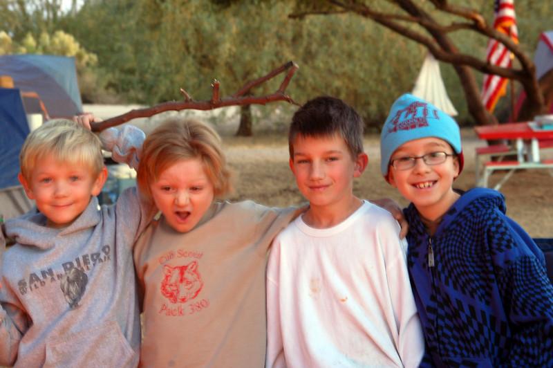 Kaleb, Will, Adam, and Alex