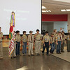 WEBELOS II present colors. 2011-03-25
