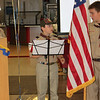 WEBELOS II present colors. 2011-03-25. Andrew Murfee sings the National Anthem.
