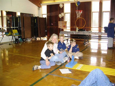 Pinewood Derby 2005