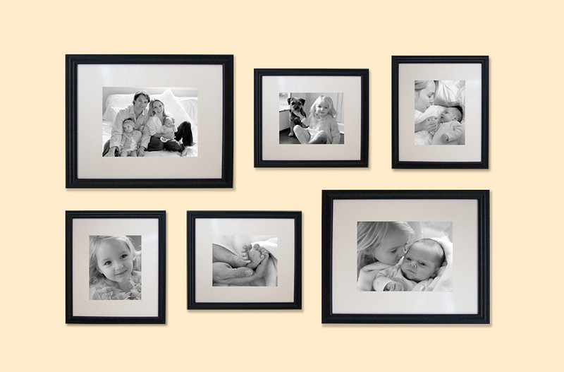 """Photo Wall Extravaganza"" -- (2) 11 x 14, (4) 8 x 10 -- $89.00 (mixed images, luster paper)<br /> Here is a great offer on acquiring a mix of enlargements for a spectacular photo wall. So go out and buy the less expensive pre-cut matted frames with these standard size openings, and GO WILD picking your shots!! What a DEAL."