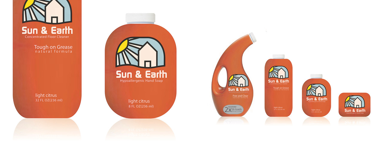 Sun & Earth Laundry Detergent Products