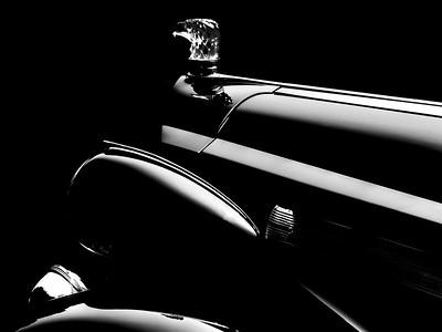 1938 Packard Super 8 Sedanca de Ville