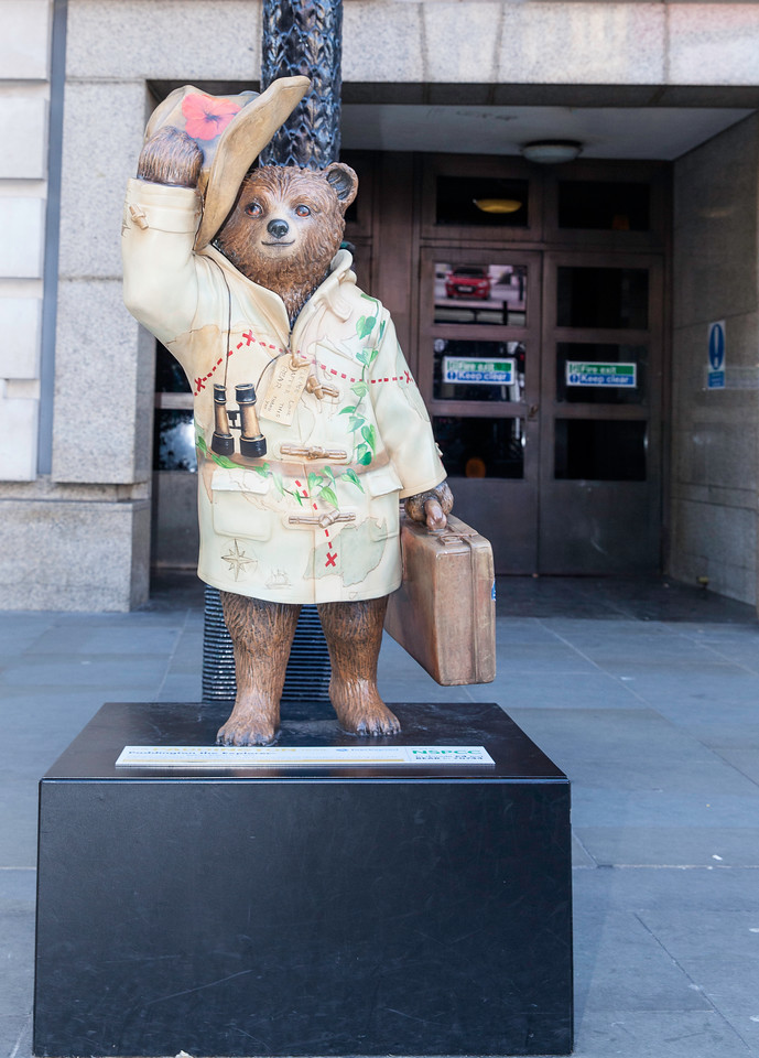 Paddington The Explorer in Piccadilly London