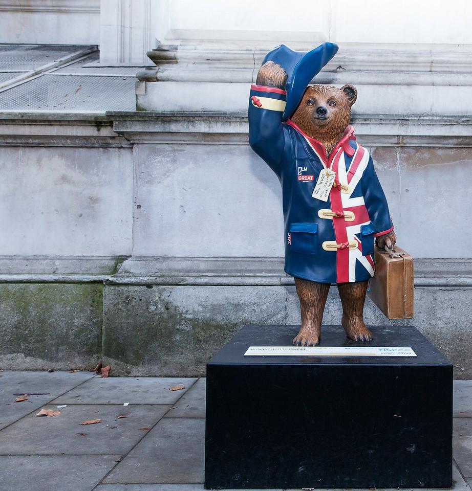 Paddington is Great near Downing Street London