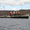 Waverley resting at Tighnabruaich