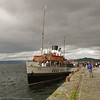 Waverley diverted to Fairlie due to fishing nets snagging Largs Pier