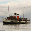 Waverley arriving at Brodick