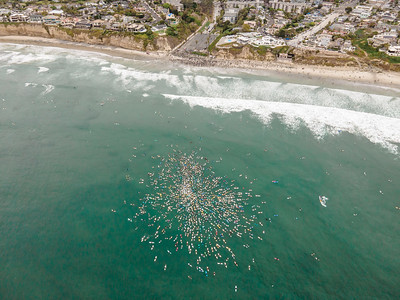 Paddle for Peace Solidarity Paddle out 2020