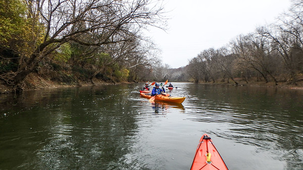 Paddle to the Castle with Cincypaddlers