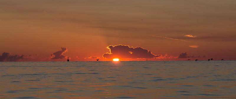 Sunrise on Detroit River